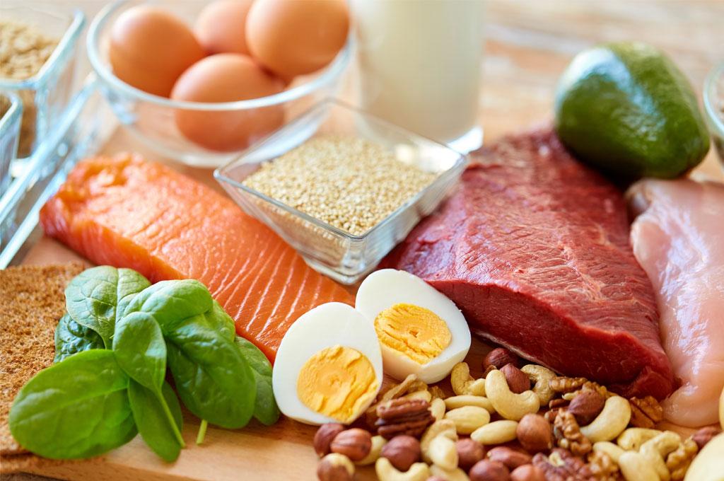 การเพิ่มโปรตีน และงดแป้ง